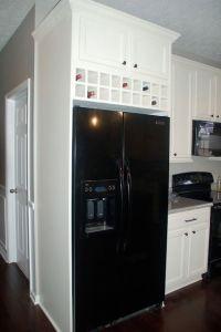 DIY Wine Rack Cabinet Insert @ Love Grows Here: Built
