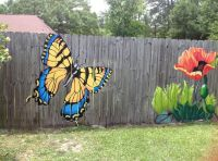 Best 25+ Fence art ideas on Pinterest | Fence painting ...
