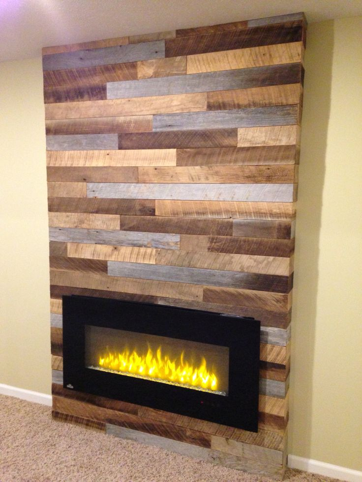 Using reclaimed wood and pallets with a modern electric