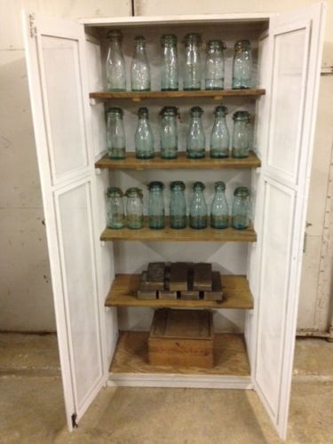 ebay kitchen cabinets table nook vintage, pantry and industrial on pinterest