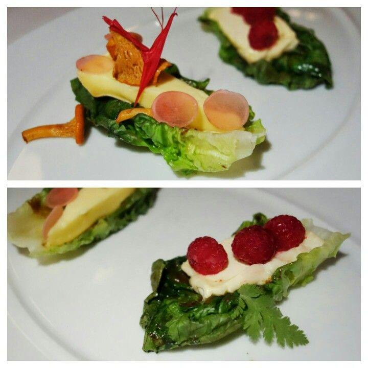 Interesting #cheese plate presentation... like cheese