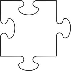 Top 25 ideas about Puzzle Piece Template on Pinterest