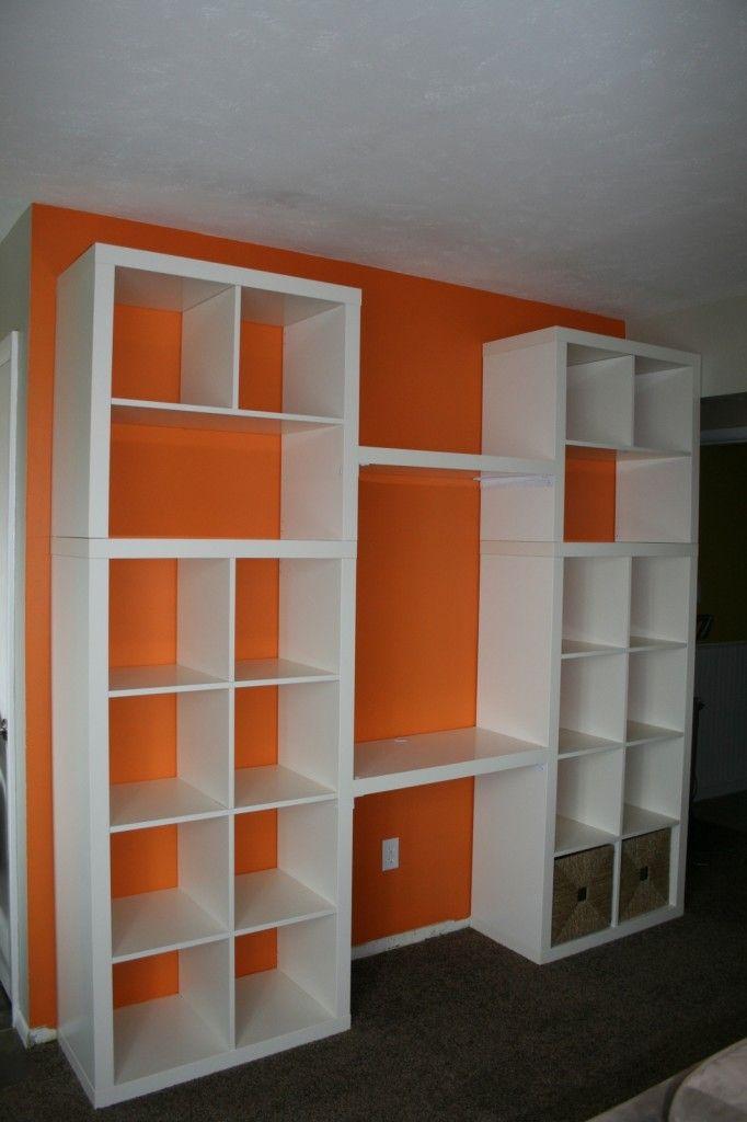 living room tv mounting height how to design a long narrow ikea hack bookshelf/desk- good idea for