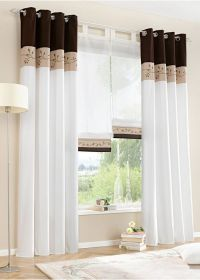 17 Best ideas about 3 Window Curtains on Pinterest ...