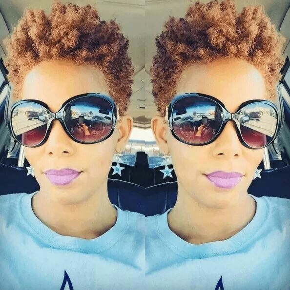 Short Natural Curly Black Hairstyles Page 1