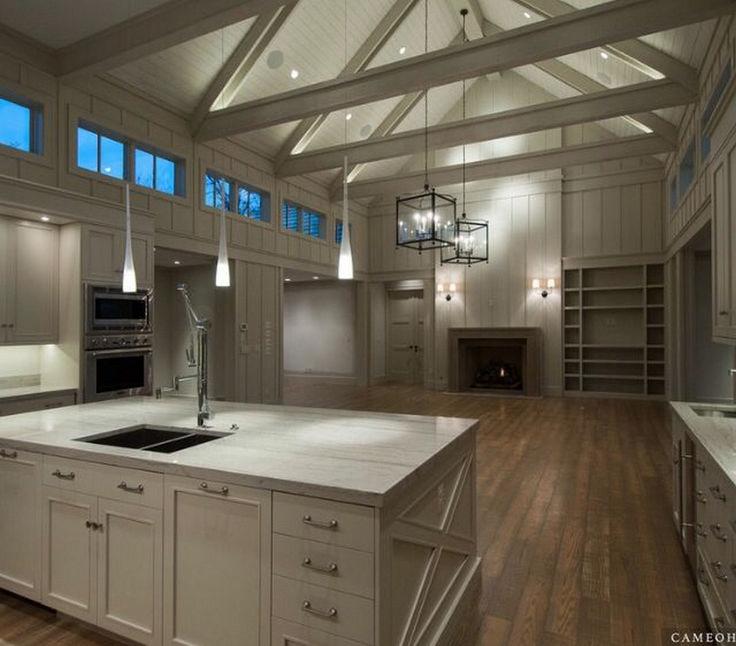 rustic modern living room decor ideas dark grey laminate flooring best 25+ barn home designs on pinterest | pole ...
