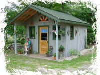 Rustic+Garden+Sheds+With+Porches | Rustic Garden Potting ...
