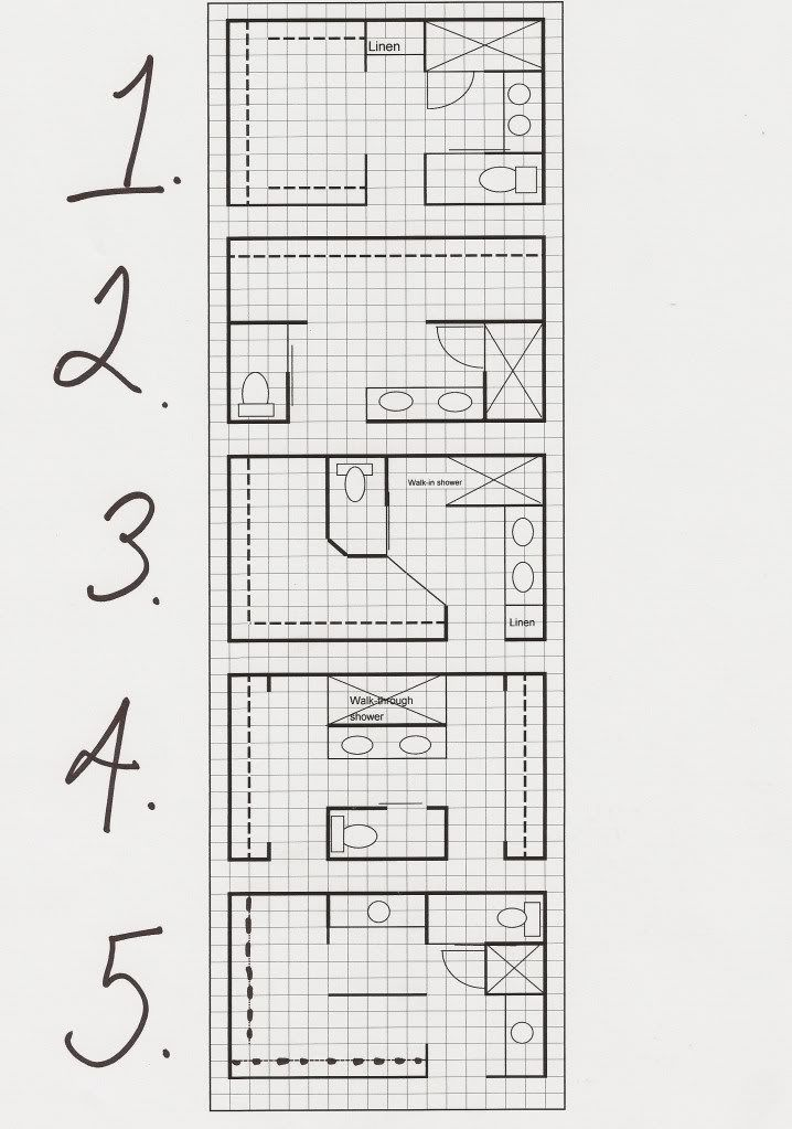 17 best images about Bathroom floor plans on Pinterest