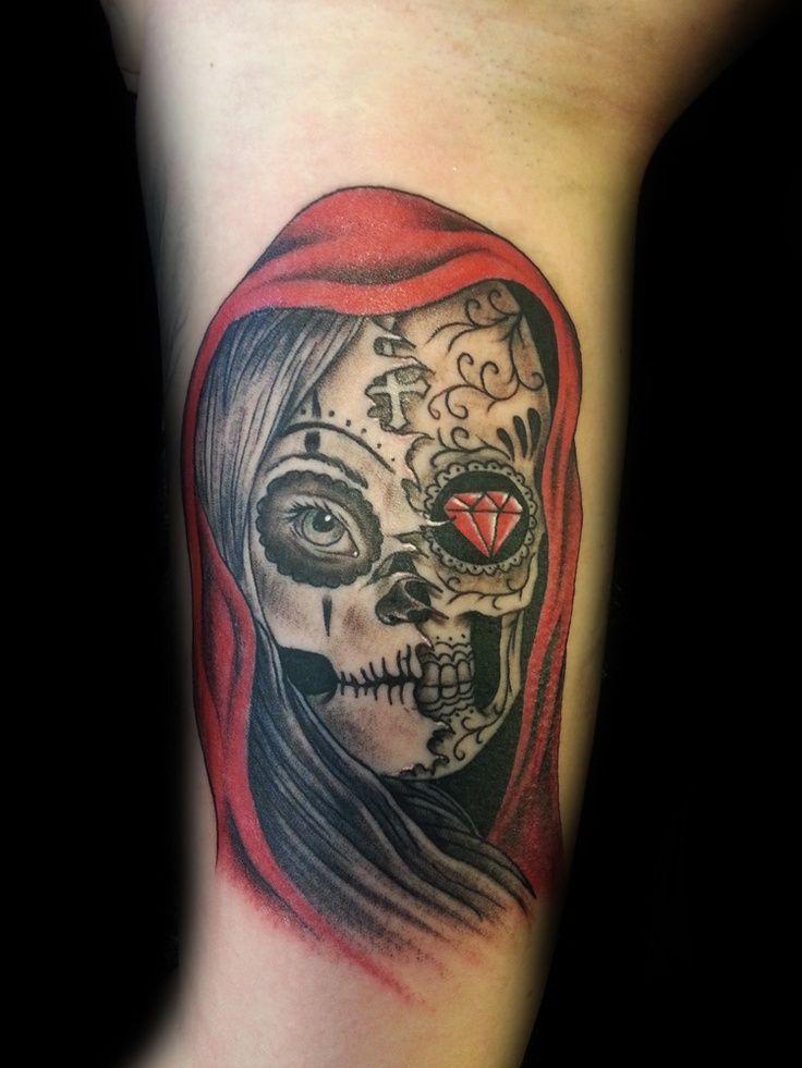 25+ Best Ideas About Evil Skull Tattoo On Pinterest