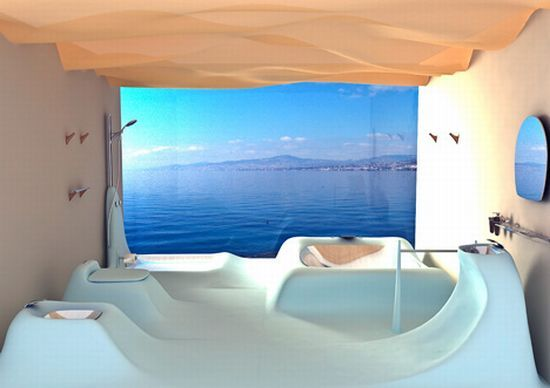 Waveflow By Wei Chung Lee Is One Cool Bathroom Interior