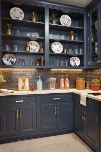 17 Best ideas about Dark Blue Kitchens on Pinterest   Dark ...