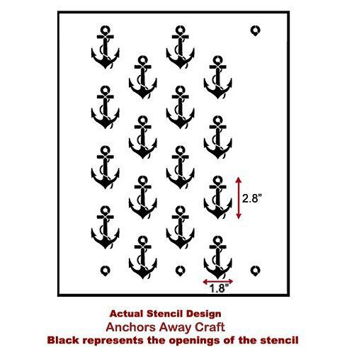 25+ best ideas about Anchor Stencil on Pinterest