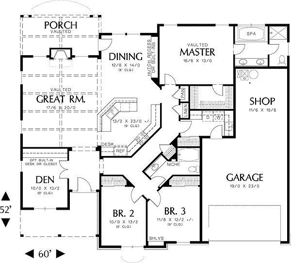 286 Best Images About Floor Plans On Pinterest House Plans