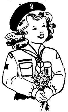 84 best Girl Guides Clip Art images on Pinterest