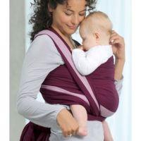 amazonas echarpe porte bebe carry sling berry cm