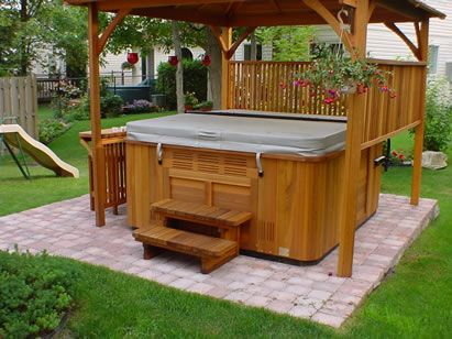 25 Best Ideas About Hot Tubs Landscaping On Pinterest Outdoor