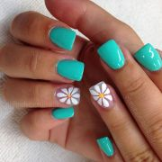 turquoise pedicure ideas
