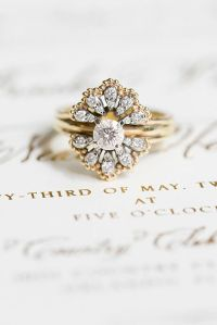 Vintage Gold Engagement Rings