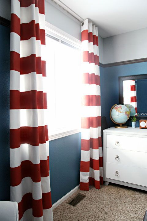 25 Best Ideas About Stripe Curtains On Pinterest Black Curtains