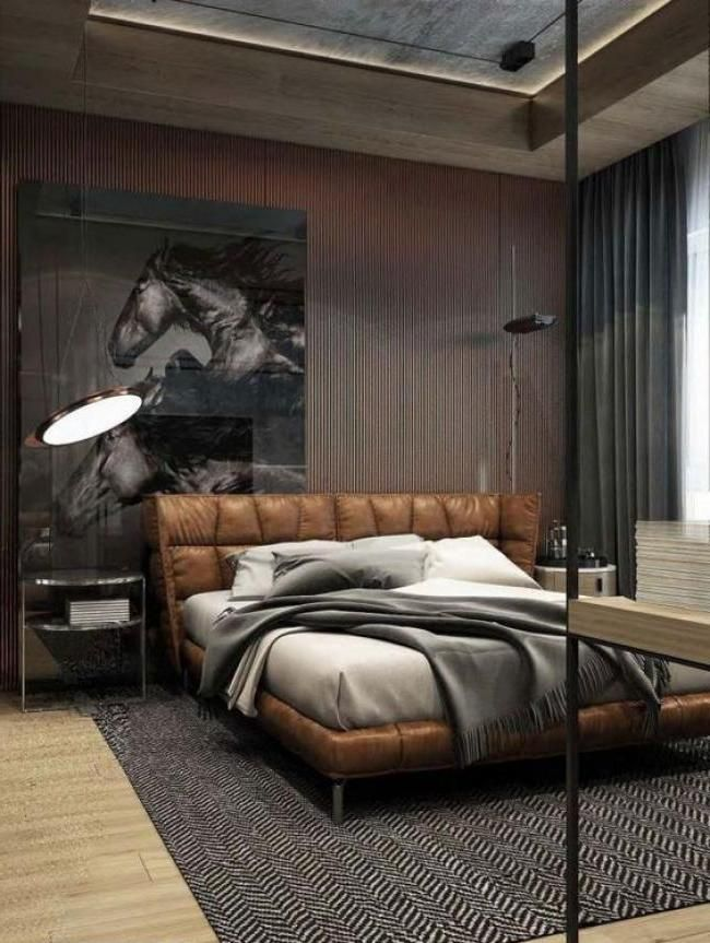 17 Best ideas about Masculine Bedrooms on Pinterest  Man