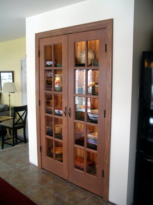 French Pantry Doors French Door Pantry Kitchen