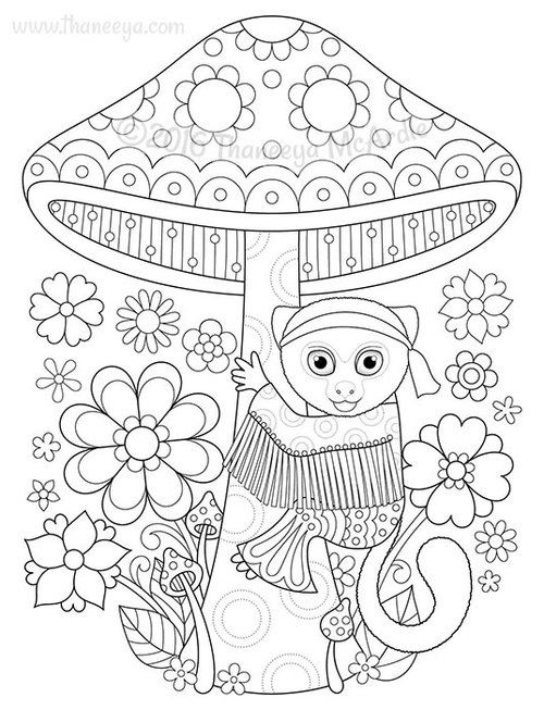 660 best images about Animal Coloring Pages for Adults on