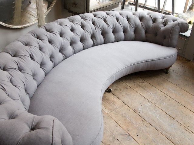17 Best ideas about Curved Sofa on Pinterest  Curved couch Sofa and Round sofa