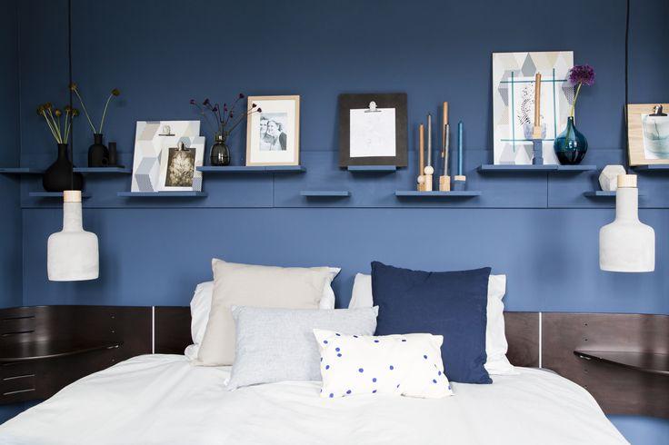 25 beste ideen over Blauw slaapkamer decor op Pinterest