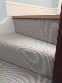 Grey Carpet to Stairs in Private Residence In South London ...