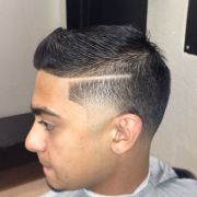 combover with hardpart and taper