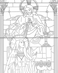 285 best images about Catholic coloring pages on Pinterest