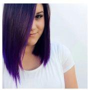 purple balayage hair styles