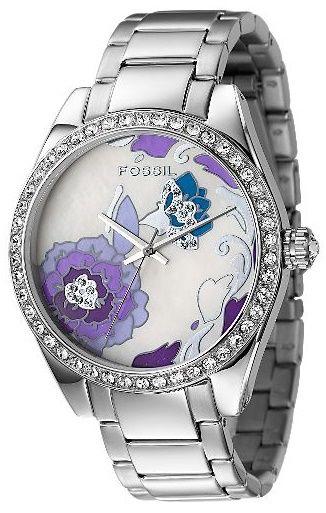 Purple Floral Ladies Watch