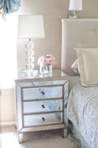 25+ best ideas about Mirrored nightstand on Pinterest ...