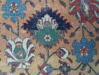Safavid vase carpet fragment (detail), V&A archives ...
