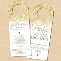 Best 25+ Wedding door hangers ideas on Pinterest | Simple ...