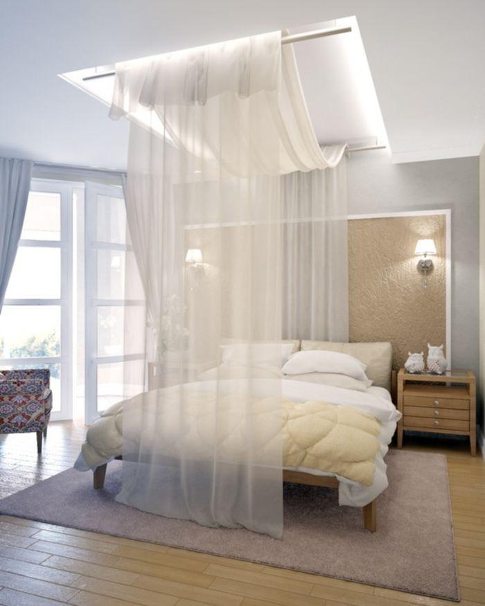 schlafzimmer ideen himmelbett | moregs, Schlafzimmer ideen
