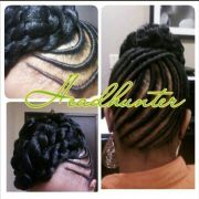 stuffed twist hairstyles