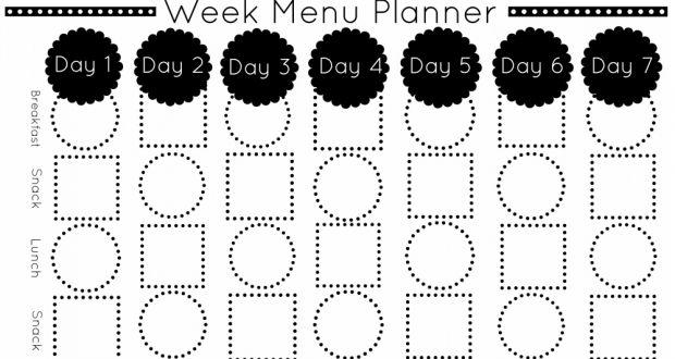 78+ ideas about Menu Planning Templates on Pinterest