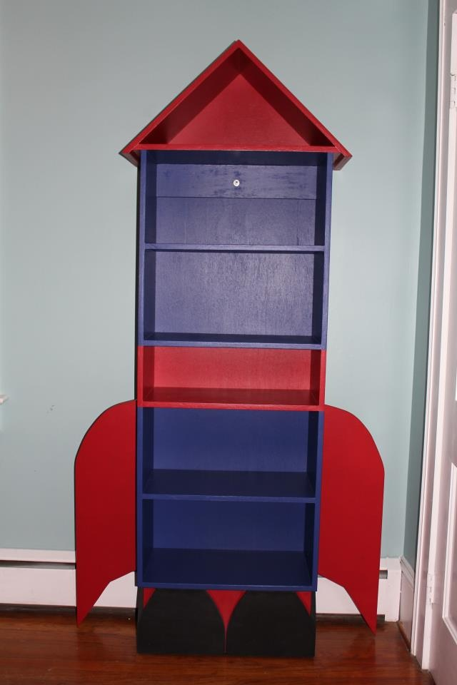 Rocket Ship Bookcase  Baby Coming Soon  Pinterest