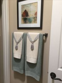 25+ best ideas about Bathroom Towel Display on Pinterest