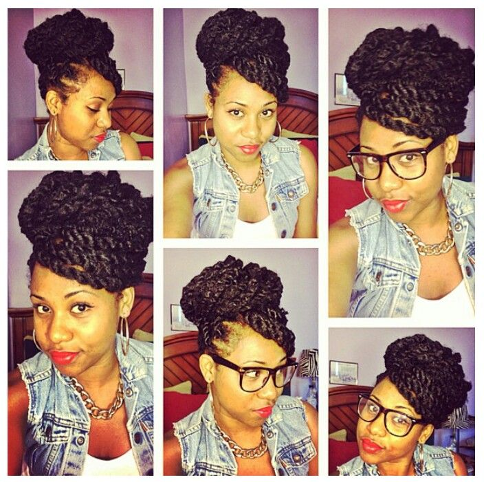 25 Best Ideas About Marley Twists Updo On Pinterest Big Havana