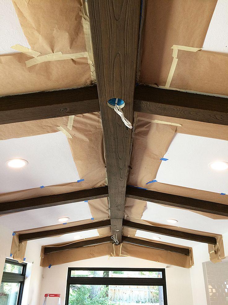 Beams, Wood ceiling beams and Faux wood beams on Pinterest