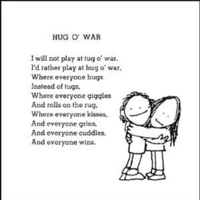 'Where everyone kisses, everyone grins, everyone cuddles