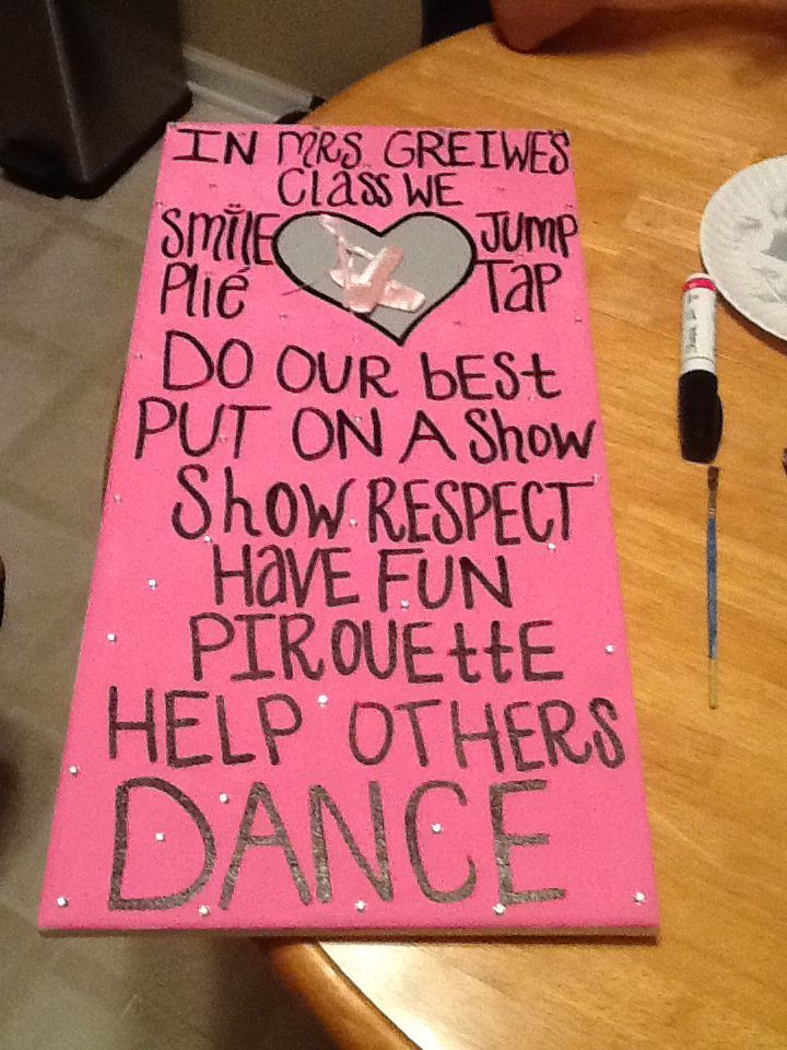 1000 Images About Dance Teacher Gifts On Pinterest