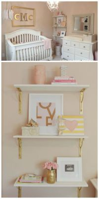 25+ best ideas about Pink gold nursery on Pinterest | Gray ...