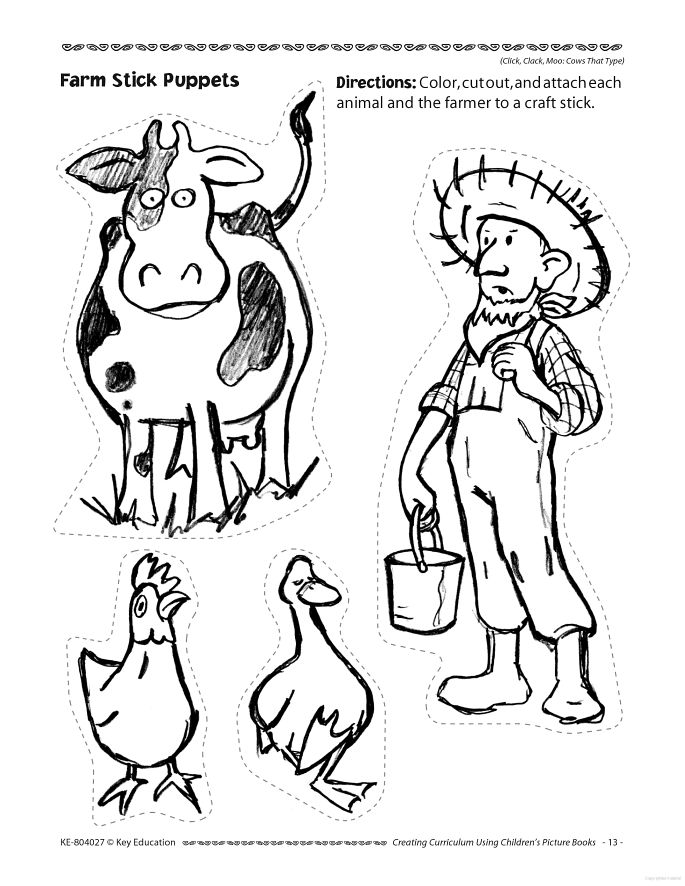 15 best CLICK, CLACK, MOO Cows that Type written by Doreen