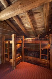 25+ best ideas about Cabin bunk beds on Pinterest | Rustic ...