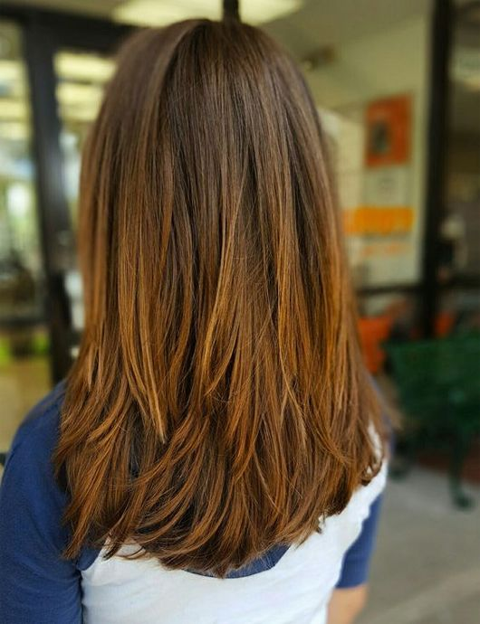 25 Best Ideas About Medium Long Haircuts On Pinterest Layered