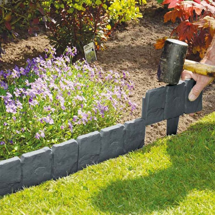 25 Best Ideas About Plastic Garden Edging On Pinterest Plastic